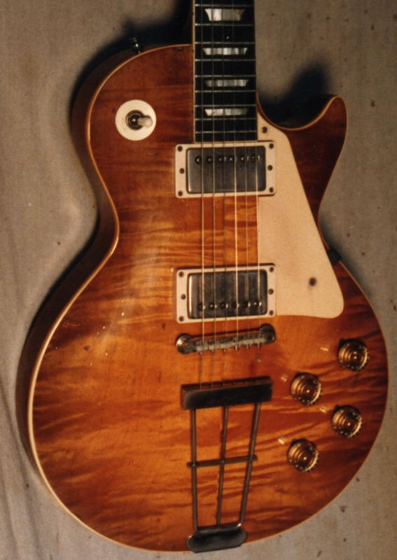 Burst Pic of the Week-Cooper/trapeze tailpiece